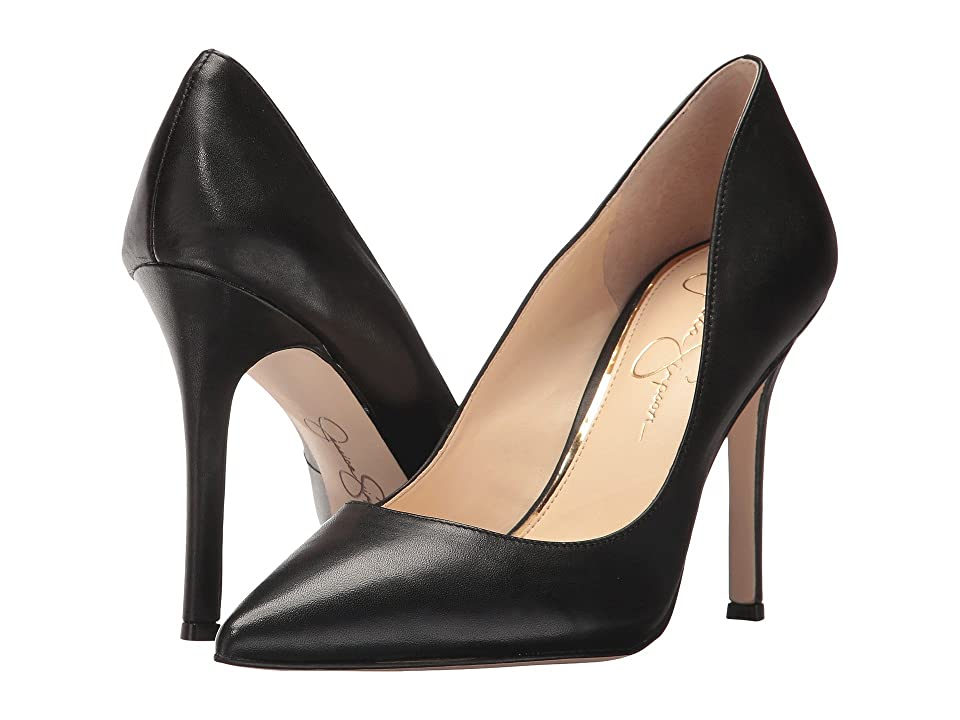 Jessica Simpson Blayke (Black Silky) High Heels