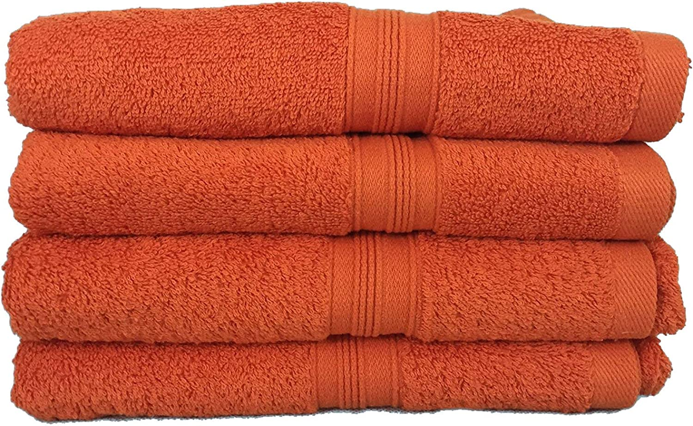 S.Ariba Handtuch-Set,2-4&6er Pack Pack Pack Frottier Handtücher Set 70x140cm-100x150cm Qualität 500 g m² - 100% Baumwolle (6 Pack Duschtuch 70x140cm, Orange) B06X3S2SQL 324490