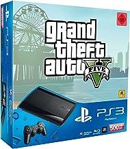 PlayStation 3 - Konsole Super Slim 500 GB (inkl. DualShock 3 Wireless Controller + GTA V) [Edizione: Germania]