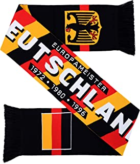 Germany Deutschland Soccer HD Knit Scarf