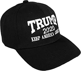 d992ba5a3 Bingoo Trump 2020 Keep America Great Embroidery Campaign Hat USA Baseball  Cap