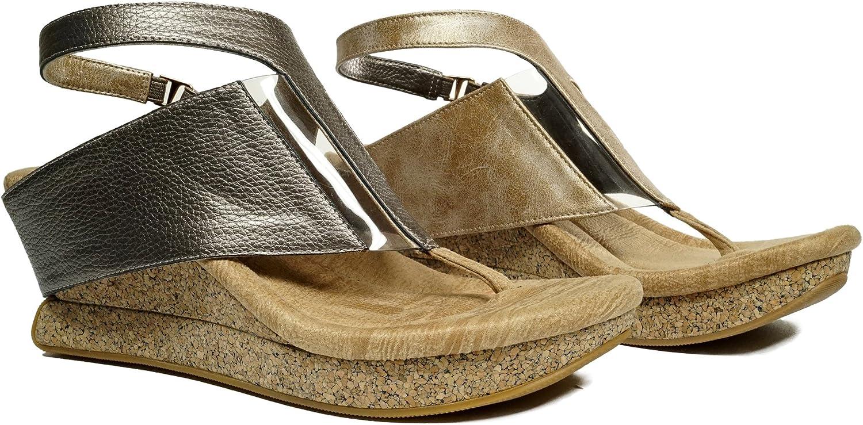 Modzori Amaza Kvinnors Kvinnors Kvinnors Mid Wedge Reversible Sandal  outlet online butik