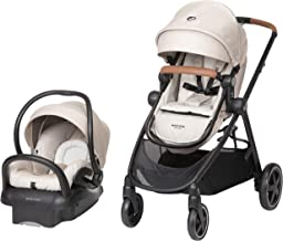 Maxi-Cosi Zelia Max 5-in-1 Modular Travel System, Nomad Sand, One Size