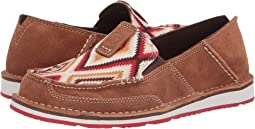 New Earth Suede/Red Aztec
