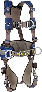 3M DBI-Sala Exofit NEX Construction Style Positioning/Climbing Harness 1113154, Medium, 1 Ea