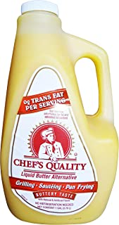 1 Gallon Liquid Butter Alternative for grill, saute, pan fry, baste, dip