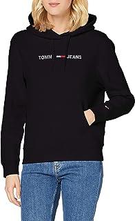 Tommy Hilfiger Tjw Linear Logo Hoodie Maglione Donna