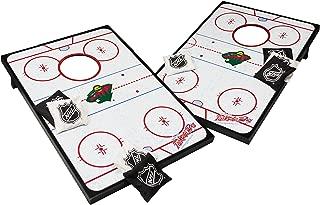 Wild Sports NHL 2' x 3' Hockey Rink Cornhole Bag Toss Game