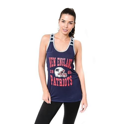 Icer Brands NFL Women s Jersey Tank Top Sleeveless Mesh Tee Shirt 8ac48bea6