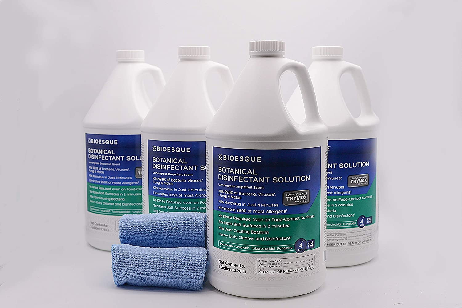Bioesque Botanical Disinfectant Solution - I of Max 72% OFF Many popular brands Case Gallons 4
