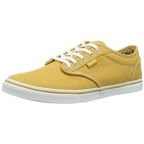 383a1b1f5e Gold Vans  Amazon.com