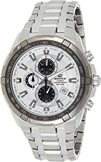 Casio Casual Watch Analog Display For Men, Silver Band, EF-539D-7AVDF