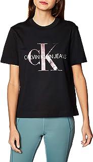 Calvin Klein New York Print CK Tee Camicia Donna