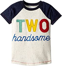 Two Handsome Short Sleeve Raglan Shirt (Toddler)