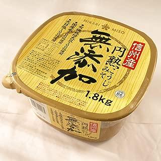 ひかり味噌 無添加 円熟こうじみそ 1.8kg