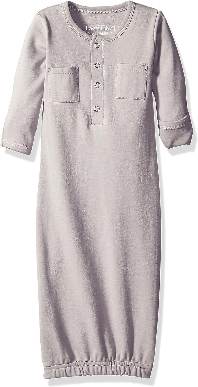L'ovedbaby Unisex-Baby Newborn Organic Gown