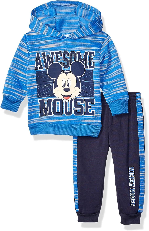 Disney Baby Boys Mickey Mouse 2 Piece Fleece Set