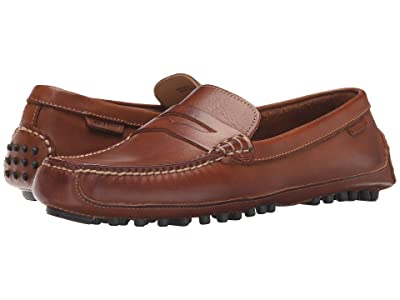 Cole Haan Grant Canoe Penny (Papaya) Men