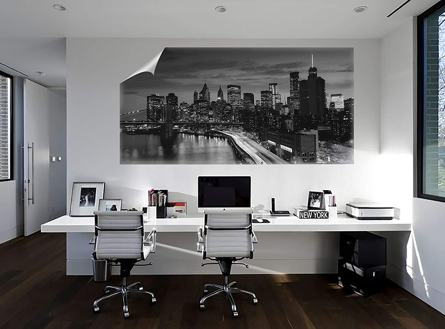 Amazon Com Custom Canvas Wall Mural Graphics Make Your Own Wall Art For Living Room Home Decor Easy To Paste Or Remove No Glue Residue 58x110 Inch Home Kitchen