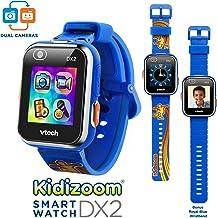 VTech KidiZoom Smartwatch DX2 Special Edition Skateboard Swoosh with Bonus Royal Blue Wristband