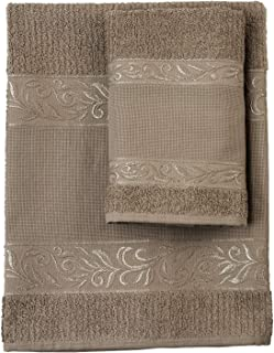 Filet – Juego de toallas de mano con ospite – 100% rizo