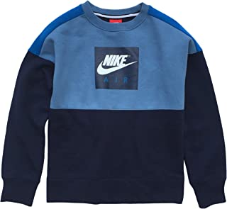 Air Swoosh Big Boys' Crewneck Long Sleeve Sweatshirt