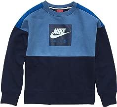 Nike Air Swoosh Big Boys' Crewneck Long Sleeve Sweatshirt
