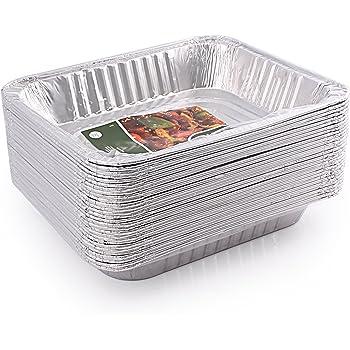 Jetfoil 1843 Aluminum Foil Steam Table, Half Size Deep, 9x13 Pans (30 Pack)