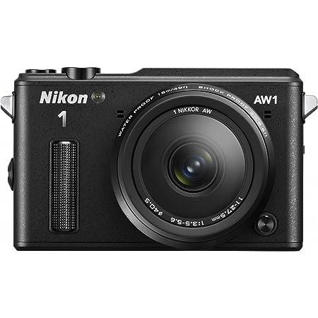 Nikon ミラーレス一眼カメラ Nikon1 AW1 防水ズームレンズキット ブラック N1AW1LKBK