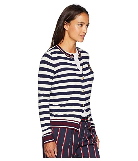 6fe1ff4459 Shop Lauren Ralph Lauren Petite Bullion-Patch Cotton Cardigan