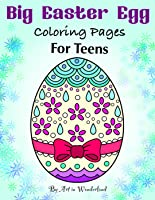 Big Easter Egg Coloring Pages for Teens