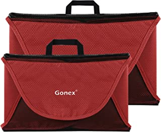 "Gonex Garment Folder, 15""+18"" Travel Shirt Packing Organizer Red"