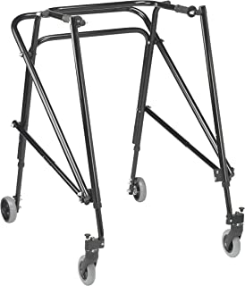 Inspired by Drive Nimbo 2G Lightweight Posterior Walker, Emperor Black, Extra Large