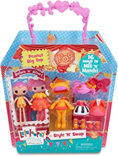 Lalaloopsy Minis Style 'N' Swap Doll- Peanut Big Top