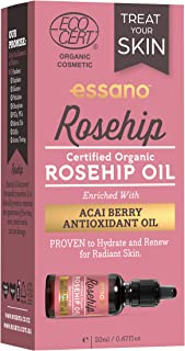 Essano Certified Organic Rosehip Oil 20ml