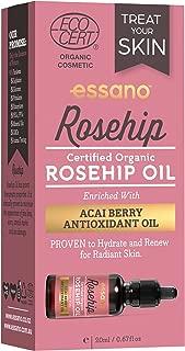 Essano Organic Rosehip Oil with Antioxidant Acai Berry, 20ml (0.6 oz)