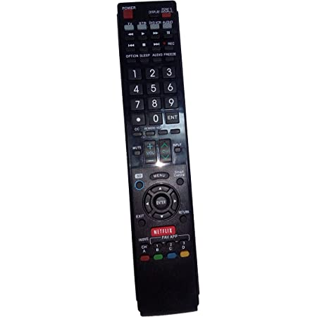 LC-80LE844 OEM Sharp Remote Control Specifically for LC46LE540U ...