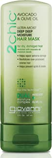 Giovanni 2chic Avocado and Olive Oil Ultra-Moist Deep Moisture Hair Mask, 5 Fluid Ounce