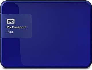Western Digital 1TB My Passport Ultra USB 3.0 Secure Portable External Hard Drive, Blue (WDBGPU0010BBL-NESN) [Old Model]