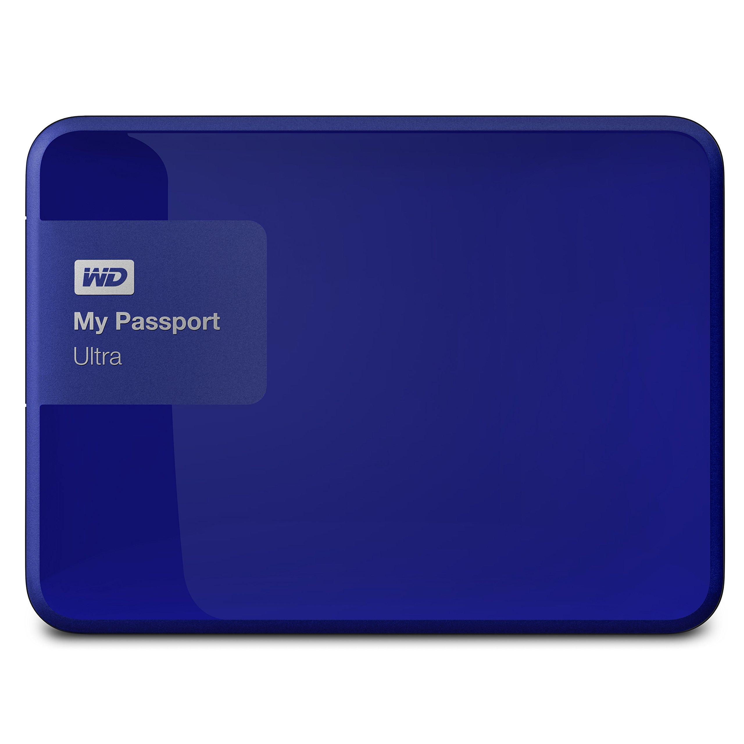 웨스턴 디지털 WD 마이 패스포트 울트라 포터블 외장하드 1TB, 2TB - 4 컬러 Western Digital 1TB My Passport Ultra USB 3.0 Secure Portable External Hard Drive