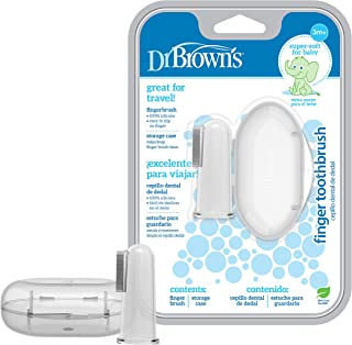 Dr Browns Dr Browns Silicone Finger Toothbrush with Case , Piece of 1