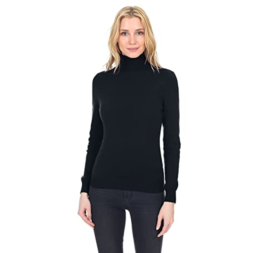 b9dfc375d1b State Fusio Women s Cashmere Wool Long Sleeve Pullover Turtleneck Sweater  Premium Quality