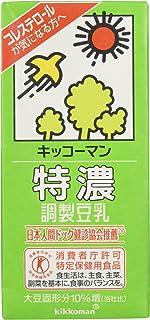 [冷蔵] [トクホ] キッコーマン 特濃調製豆乳 1000ml「消費者庁許可特定保健用食品」