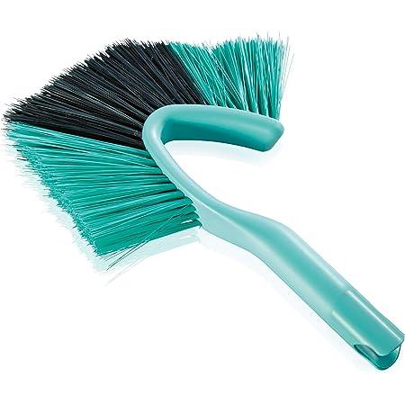 Leifheit balai Tête de Loup Dusty, plumeau à poussière pratique & efficace, balayette idéale pour nettoyer jusque dans les coins, balai brosse Click System