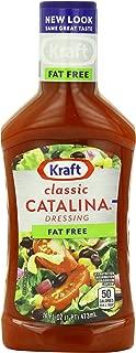 Kraft Catalina Fat Free Dressing (16 oz Bottles, Pack of 6)