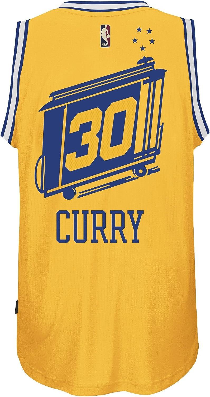 Stephen Curry golden State Warriors Hardwood Classics Adidas Swingman Jersey