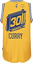 adidas Stephen Curry Golden State Warriors Gold Hardwood Classic Jersey