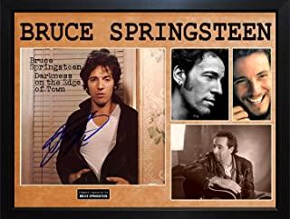 bruce springsteen autographed album