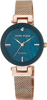 Anne Klein AK/N2472NMRG Analog Quartz Rose Gold Watch