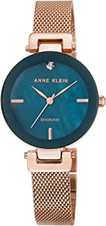 Anne Klein AK/N2472NMRG Analog Quartz Rose Gold Watch
